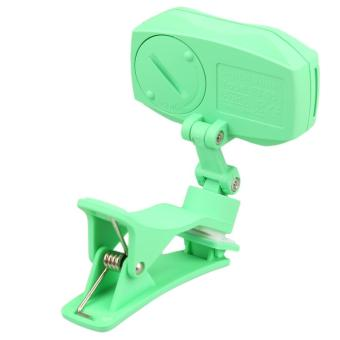 Multi-function Full Color Display Musical Instrument Clip-on Tuner (Green) - picture 2