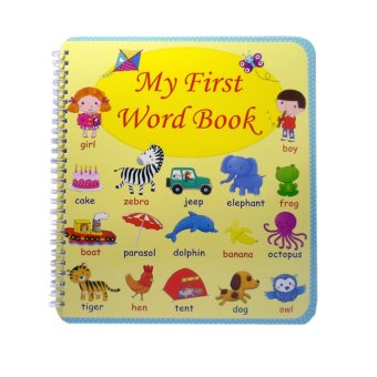 My First Word Book Educational Book for Kids