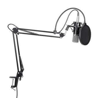 Neewer NW-700 MICROPHONE KIT+B-3 MICROPHONE WIND SCREEN FILTERSHIED+NB-35 STAND Price Philippines