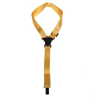 New Adjustable Ukulele Strap with Hook for All Size Ukuleles (Yellow) - picture 2