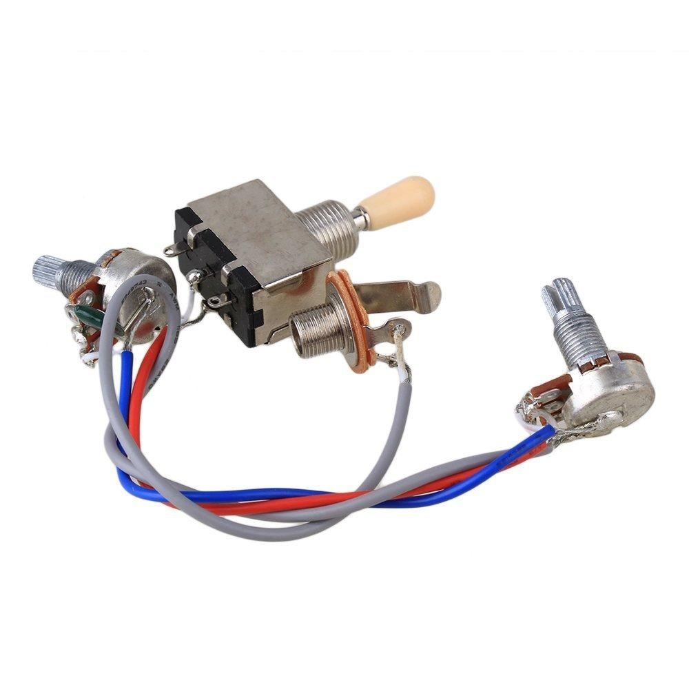 Philippines New Electric Guitar Wiring Harness Kit 3 Way Toggle