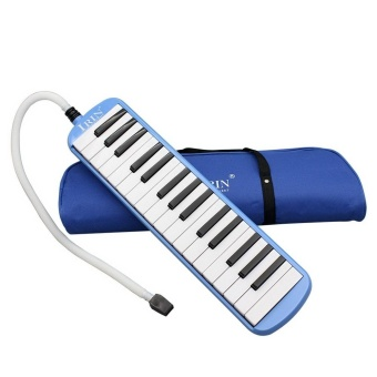 New IRIN 32-Key Melodica with Blowpipe & Blow Pipe Blue - intl Price Philippines