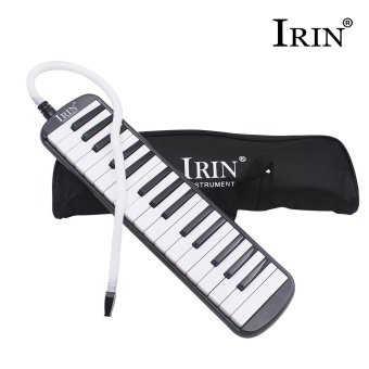 New IRIN 32-Key Melodica with Mouthpiece & Hose & Bag Black- intl Price Philippines