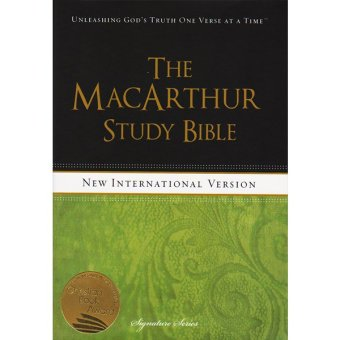 NIV The MacArthur Study Bible Hard Cover
