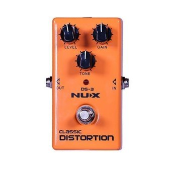 NUX DS-3 Distortion Guitar Pedal True Bypass with Classic &Blues Rock Tone Price Philippines