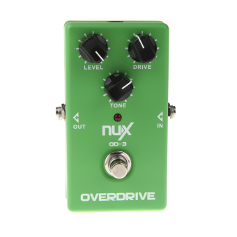 NUX OD-3 Overdrive Guitar Electric Effect Pedal Ture Bypass Green