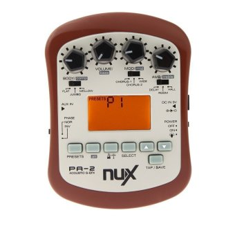 NUX PA-2 Acoustic Guitar Effect Multifunctional Portable GuitarParts Accessories 18 Types of Preset Two Tuning Modes Price Philippines