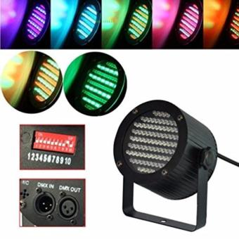 Par 86 RGB par Stage Light DMX-512 Lighting Laser DJ KTV Disco USPlug