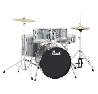 Pearl Roadshow RS525SC/S 5-pcs Drum Set (Charcoal Metallic)