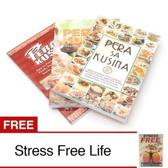 Pera sa Kusina and Pera sa Kusina 2 and 3 Bundle of 3 with FREE Stress Free Life