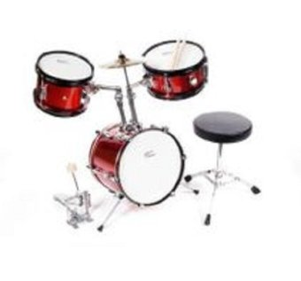 Play On Junior Drumset Mini 3Pc (Red)