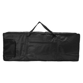 Portable 61-key Keyboard Thick Padded Electric Piano Bag Double Shoulder Case - intl