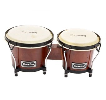 Premiere Bongos Set with Stand (Brown) Price Philippines
