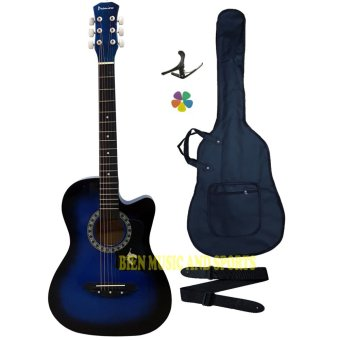 Premiere High Quality Acoustic Guitar (Blue) Price Philippines