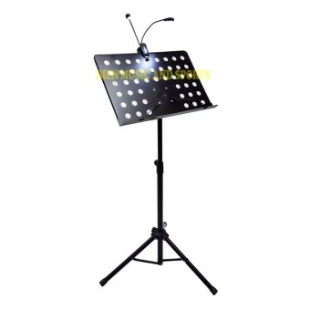PREMIERE Music Stand heavy duty with LED Light (Black) Price Philippines