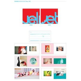 RED VELVET - The Velvet (2nd Mini Album) CD+Folded Poster+ExtraPhotocards Set - 5
