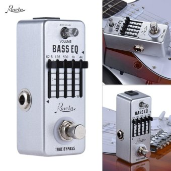 Rowin Bass Guitar Equalizer Effect Pedal 5-Band EQ Aluminum AlloyBody True Bypass Outdoorfree - intl - 3