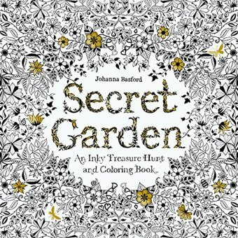 Secret Garden An Inky Treasure Hunt and Coloring Book by JohannaBasford Price Philippines