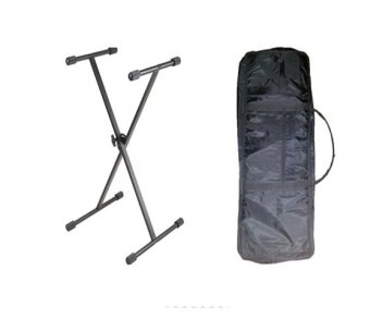 Single X keyboard Stand with Keyboard Bag