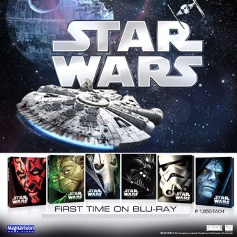 Star Wars: Episode 1 - The Phantom Menace Blu-ray Steelcase