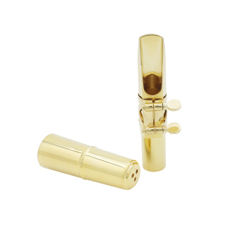 Tenor Sax Saxophone 6C Mouthpiece Metal with Mouthpiece Patches Pads Cap Buckle - 4