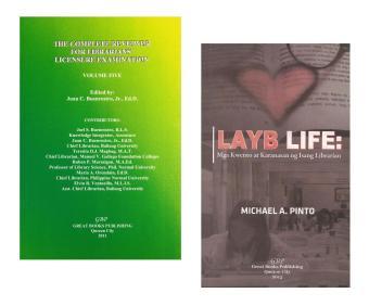 The Complete Reviewer Librarians' Licensure Examination Volume 5 and Layb Life: Mga Kwento at Karanasan ng Isang Librarian 2 in 1 Book Bundle