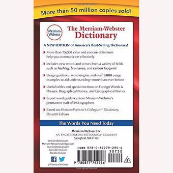 The Merriam-Webster Dictionary English Learner's Features - 2