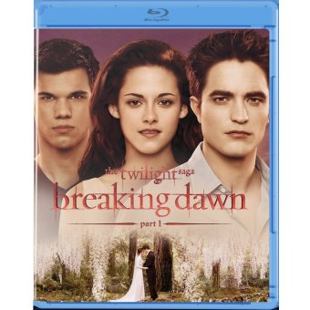 The Twilight Saga: Breaking Dawn Part 1 Blu-ray