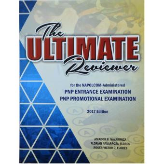The Ultimate Reviewer for NAPOLCOM-Administered PNP ENTRANCE EXAMINATION, PNP PROMOTIONAL EXAMINATION Price Philippines