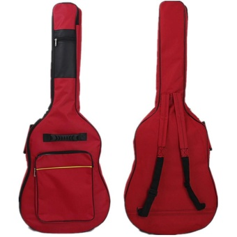 Thick Guitar Oxford Bag 41 Inch Ball Guitar Bag Backpack PlusCotton Fen Da Guitar Package - intl Price Philippines