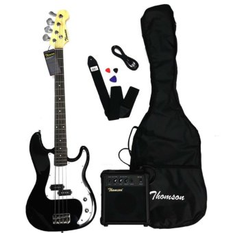 Thomson Electric Bass Guitar Package (Black)