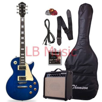 Thomson Les Paul Bolt-on with 15watts amp Package Electric Guitar(Blue)