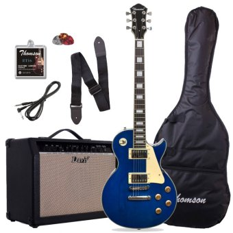 Thomson Les Paul Bolt-on with 40watts amp Package Electric Guitar(Blue)
