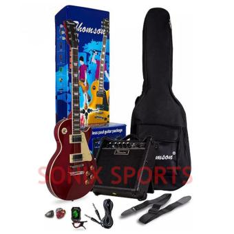 Thomson Les Paul Complete Package Electric Guitar (Red)