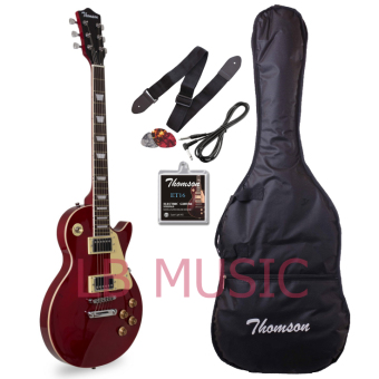 Thomson Les Paul Set Neck Electric Guitar (Wine Red)
