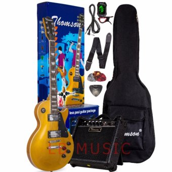 Thomson Les Paul w/ heavy duty amp, tuner and Complete accessoriesPackage Electric Guitar (Gold) Price Philippines
