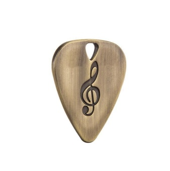 Top Guitar Picks Stainless Steel Guitar Picks Ukulele Fashion Shrapnel Ukulele - intl