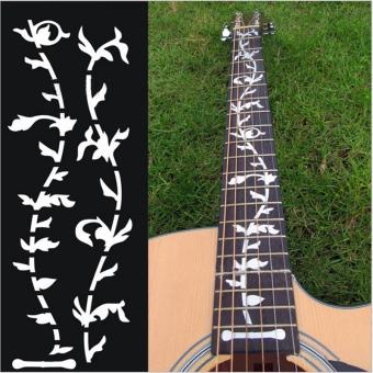 Tree Of Life Guitar Bass Fretboard Inlay Sticker DIY Wall Decal Silver Thin - 2