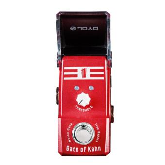 True Bypass Mini Electric Guitar Effect Pedal Gate of Kahn NoiseGate with Knob Guard - intl - 3