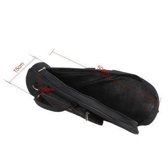 Twill Surface Trumpet Bag Case Thicken Padded Foam Non-woven Inner Cloth - Intl - 3