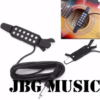 Universal 12 Sound Hole Guitar Pick-up With 3M Cable