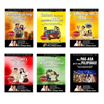 Unleash Motivational/Inspiration/Family/Finance Series (Set of 6) by Vic and Avelynn Garcia