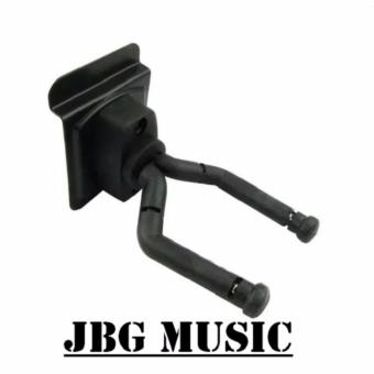 Wall Mount Hanger for Acoustic Guitar Electric Guitar Ukulelel(Black)