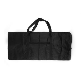 WiseBuy 61 Key Keyboard Electronic Piano Bag Case Carry Oxford Cloth Black New