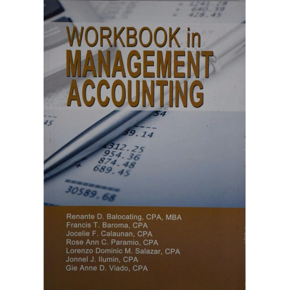 Workbook in Management Accounting