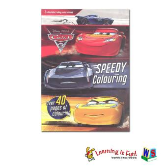 WS Disney Cars 3-Speedy Coloring