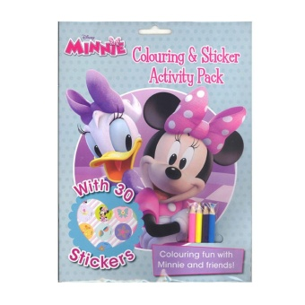 WS Disney Coloring & Sticker Activity Pack-Minnie (And Daisy)