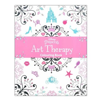 WS Disney Princess Art Therapy Coloring Book