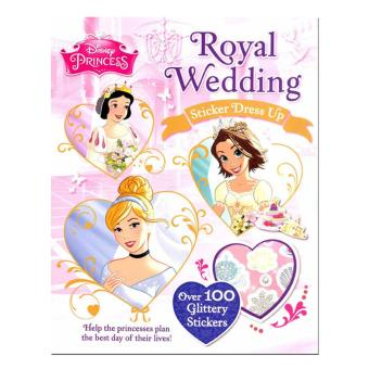 WS Disney Sticker Dress Up - Royal Wedding