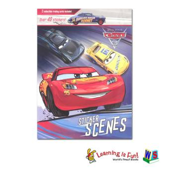 WS Disney Sticker Scenes - Cars 3